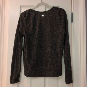 Gray Lululemon long sleeve